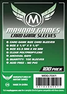 Amazon.com: Mayday Games 7041 Card Game Sleeves Pack Of 100: Toys