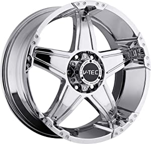 VISION WHEEL – 395 wizard – 18 Inch Rim x 9 – (5×127) Offset (12) Wheel Finish – Chrome