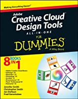 Adobe Creative Cloud Design Tools All-in-One For Dummies Front Cover