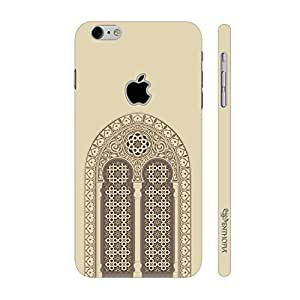 Enthopia Designer Hardshell Case Mosque Door Back Cover for Apple Iphone 7 With Hole