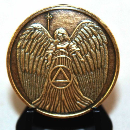 Bronze Recovery Angel (Set of 5) AA Medallion by BSP Commemorative