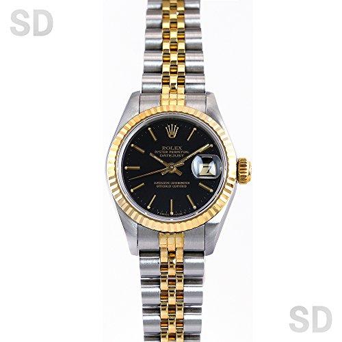 [ロレックス]ROLEX腕時計 デイトジャスト ブラック Ref:69173 レディース [中古] [並行輸入品]