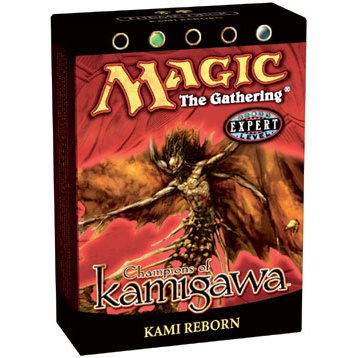 Buy Magic the Gathering MTG Champions of Kamigawa Kami Reborn Theme Deck