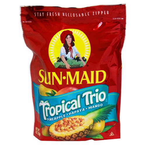 Sun Maid Tropical Trio, 7-Ounce Bags (Pack of 6)