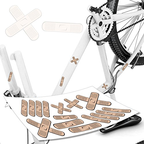 pflasteraufkleber pflaster f r fahrrad co fun sticker auto pflasterbogen. Black Bedroom Furniture Sets. Home Design Ideas
