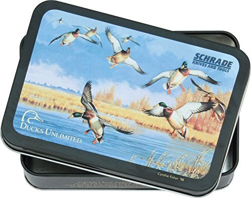 Schrade Knives ULD Ducks Unlimited Tin