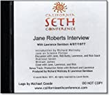 Jane Roberts Interview
