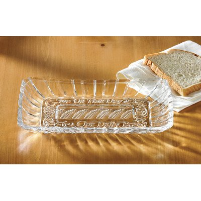 Crystal Clear Alexandria Bread Tray (Wooden Bread Tray compare prices)