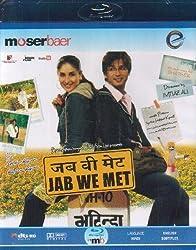 Jab We Met [(Bollywood Movie / Indian Cinema / Hindi Film Blu ray DVD) [Blu-ray]