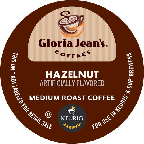 Keurig Gloria Jean's Hazelnut K-Cup packs  (Pack of 50)