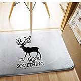 Hogar Manualidades Y Estilos De Vida Best Deals - XM Original diseño hogar vida coral polar cojines/rectángulo esteras/Corea del estilo , gray , 50*80