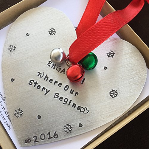 Engaged Christmas Ornament Christmas Tree Decoration Engaged Gift Wedding Gift For Just Engagement For Engagement