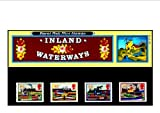 BRITISH INLAND WATERWAYS PRESENTATION PACK Royal Mail Mint British Collector Stamps in Presentation Pack 1993 * MNH * No. of Stamps: 4 *** Guaranteed Brand New, Well-Packaged, Gift-Wrapped Free (The stamp shows narrow boats on the Grand Junction Canal wh