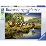 Ravensburger Puzzles Wild Horses, Multi Color (1500 Pieces)
