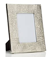 Metal Hammered Photo Frame 13 x 18cm (5 x 7