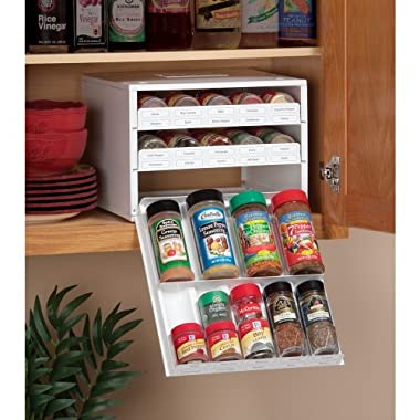 Product Image Super SpiceStack 27-Bottle Organizer for Cabinet