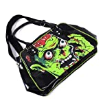 Zombie Red Brains Shoulder Bag With Popping Eyes