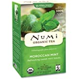 Numi Tea Simply Mint - Moroccan Mint Herbal Teasan, 18 Teasons