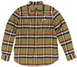 True Religion Mens Plaid Flannel Sherpa Jacket