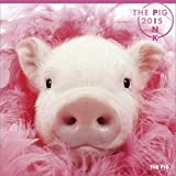 THE PIG PINK カレンダー 2015年