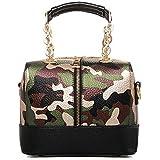 Vbiger Fashion Women Simple Style PU Leather Clutch Handbag Bag Totes Purse