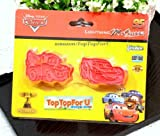 Disney Pixar Cars Mcqueen Cookie Cutters Molds Stamps Mould Japan