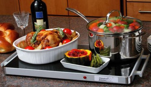 Deluxe classic Warming Tray by classic kitchen (Glass Warming Trays For Food compare prices)