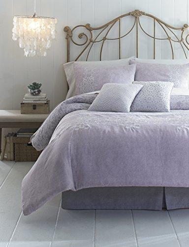 Jessica Simpson 3-Piece Primrose Comforter Set, Queen, Purple
