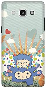 The Racoon Lean Monster Love hard plastic printed back case/cover for Samsung Galaxy A5
