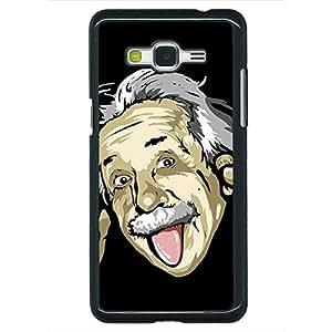 Jugaaduu Einstein Minimal Back Cover Case For Samsung Galaxy Grand Prime G530H