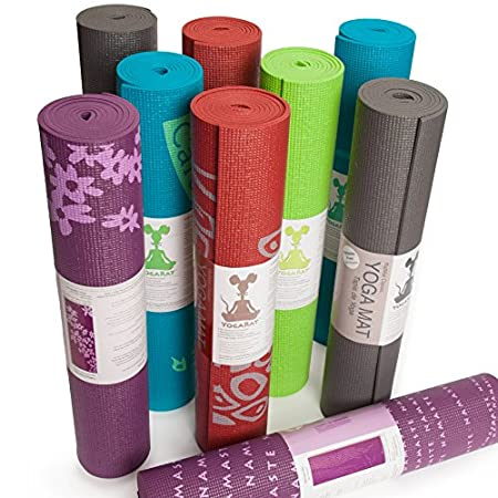 "Jazz up your yoga practice with YogaRat's SGS-certified RatMat yoga mats. Made from ¼"" extra-thick and durable foam material without the use of toxic plasticizers or phthalates, they've been manufactured not only to reduce their environmental footpri..."