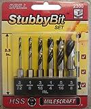 Milescraft 2300 Wood Stubby Drill Bit Set
