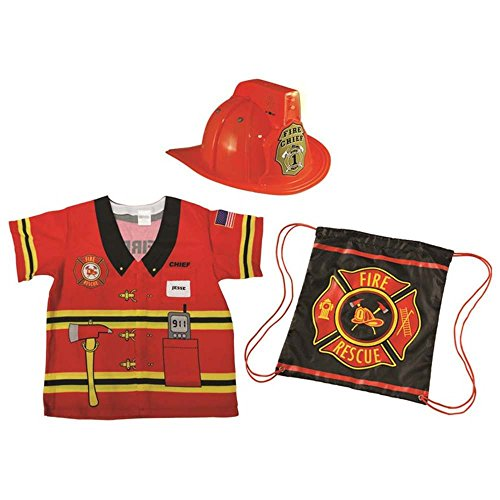 My 1st Career Gear Firefighter Kids Costume - 3-6 Years