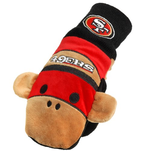 NFL San Francisco 49ers  Youth Mascot Mitten at Amazon.com