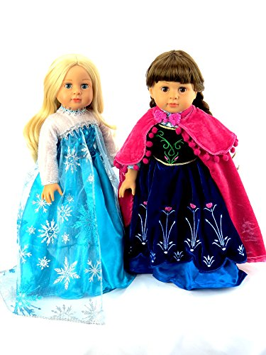 """Princess Anna and Queen Elsa Frozen Inspired Outfits 