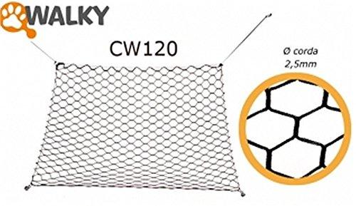 Walky Net divisorio auto in rete cani gatti 120x64 cw120 corriere