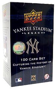 Upper Deck MLB New York Yankees Yankee Stadium Legacy 100 Card Set by Upper Deck
