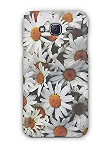 Cover Affair Flowers Printed Back Cover Case for Samsung Galaxy J5 (2016)