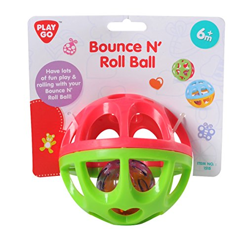 PlayGo-Bounce-N-Roll-Ball-On-A-Header-Card-Styles-May-Vary-Baby-Toy