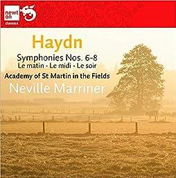 Haydn: Symphonies Nos. 6-8 (Le matin; Le midi; Le soir)