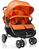 Joovy Scooter X2 Double Stroller, Orangie (Discontinued by Manufacturer)