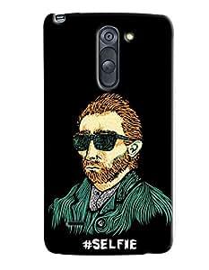 Blue Throat Selfie Man Hard Plastic Printed Back Cover/Case For LG G4 Stylus