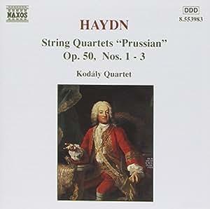 Haydn : Quatuors à cordes Op. 50 n° 1, 2 et 3