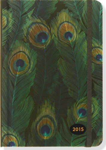 2015 Feathers Weekly Planner (16-Month Engagement Calendar, Diary)