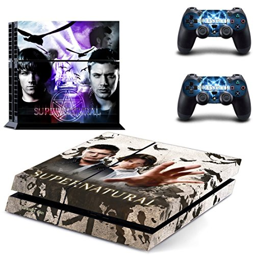 vanknight-vinyl-decal-skin-sticker-the-winchester-brothers-dean-and-sam-for-ps4-playstaion-controlle