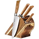 Messermeister Oliva Elite Gourmet Block Set - 5 Pieces
