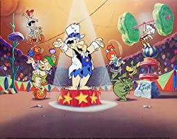The Flintstones Circus Sold Out Lithograph Print