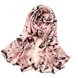 Marilyn Monroe Pink Scarf Shawl Wrap Face Chiffon Comfortable Brand New Ships from NJ