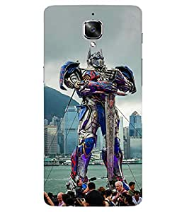Doyen Creations Printed Back Cover For One Plus 3
