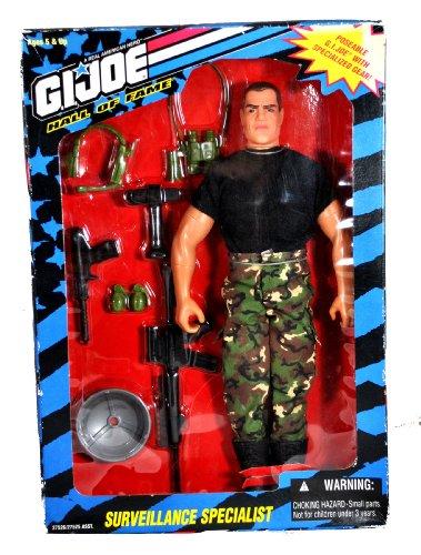 "12"" G I Joe Hall Of Fame Action Figure - Surveillance Specialist - 1995 Hasbro"